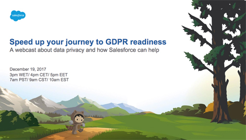 GDPR webinar Salesforce